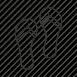 beach, exchange, flip flops, horizontal, vertical icon