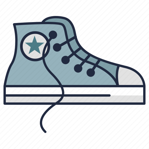 blogger, converse, fashion, hipster, punk, shoes, sneakers icon