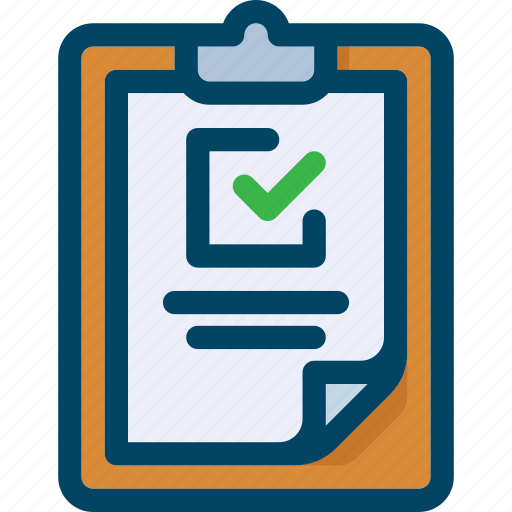 business, check, clipboard, document, list, shop, wish icon