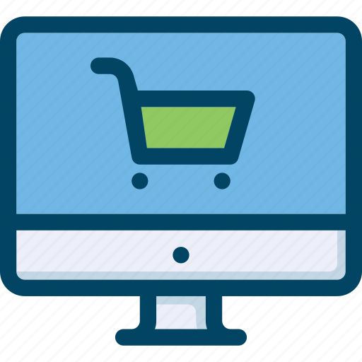 buy, commerce, computer, ecommerce, shop, trolley, web icon