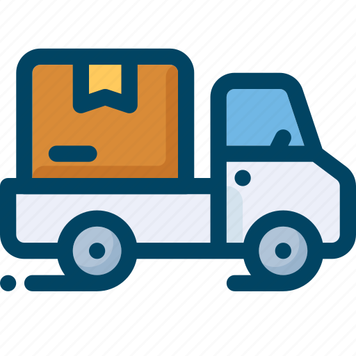 box, delivery, shipping, shop, transport, truck, vehicle icon