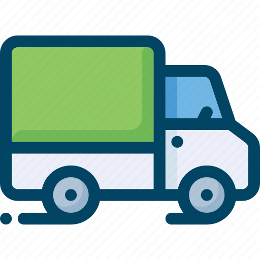 Delivery, logistics, shipping, transport, truck, vehicle icon - Download on Iconfinder