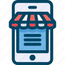 buy, commerce, ecommerce, mobile, phone, shop, shopping icon