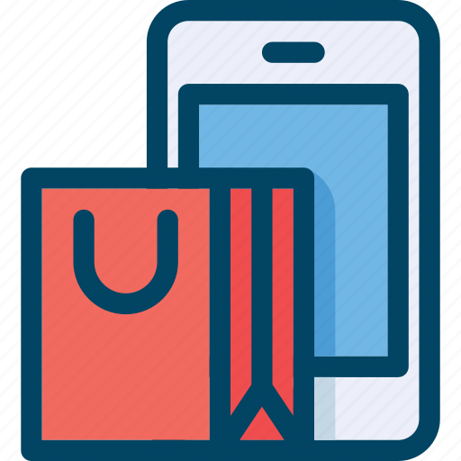 buy, commerce, mobile, phone, shop, shopping icon