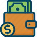 buy, coin, dollar, finance, money, pay, wallet icon