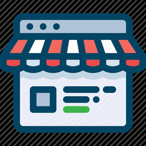 browser, buy, ecommerce, market, shop, shopping, web icon