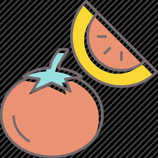 food, fruit, garden, lemon, lime, tomato, vegetable icon