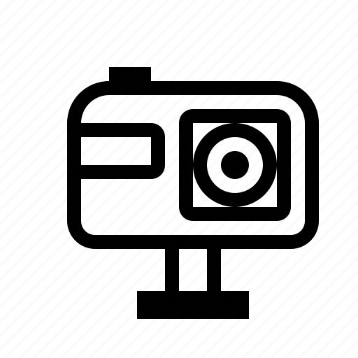 camera, equipment, extreme, gopro, technics icon