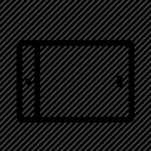 ipad, tablet, technics icon