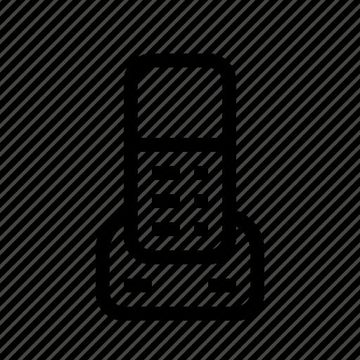 landline, phone, technics, telephone icon