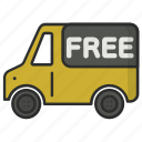 delivery, delivery service, delivery truck, ourier, service, shipping, truck icon