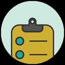 app, application, checklist, ecommerce, list, shop icon