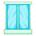 cartoon, decoration, frame, illustration, modern, window icon