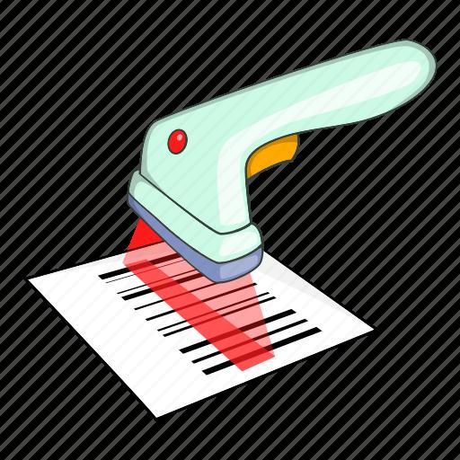 illustration, isometric, price, reader, scan, scanner, scanning icon