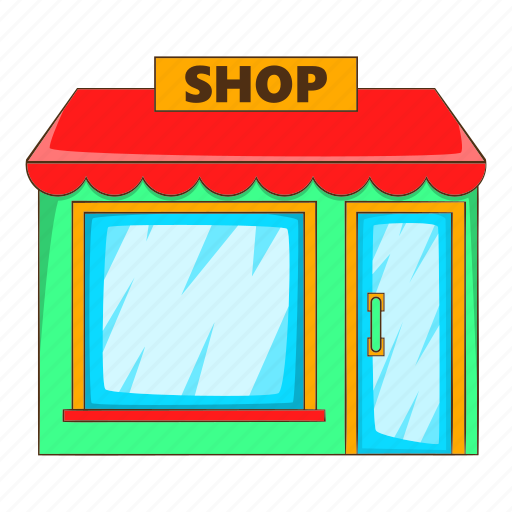 awning, business, illustration, market, retail, shop, sign icon