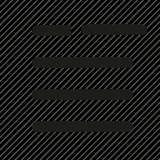 checklist, close, delete, document, list, menu, remove icon