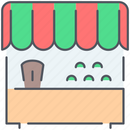 bazaar, ecommerce, groceries, market, marketplace, sale, shopping icon