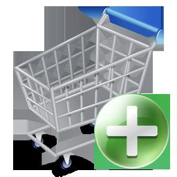 256x256, shopcartadd icon