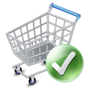 added, ecommerce, exclude, shopping cart, webshop icon