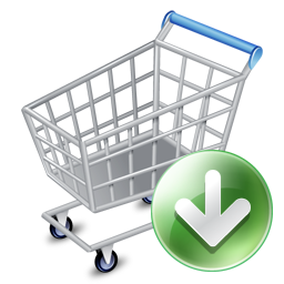 256x256, shopcartdown icon