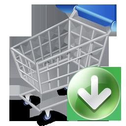 256x256, shopcartdown icon