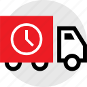 holiday, savings, sensitive, ship, shopping, time, truck icon