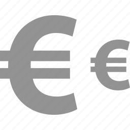 ecommerce, euro, online, pay, shop, shopping icon