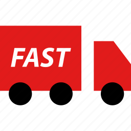 delivery, ecommerce, fast, online, shop, shopping icon