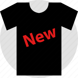 ecommerce, new, online, shop, shopping icon