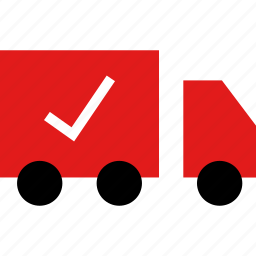 ecommerce, online, safe, shop, shopping, truck icon