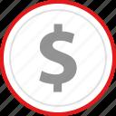 ecommerce, money, online, shop, shopping icon