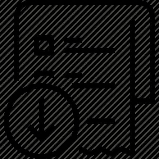 arrow, commerce, e-commerce, list, sale, shop, shopping icon
