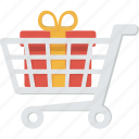 buy, cart, gift, order, present, purchase, shopping, surprise, trolley, ecommerce, sale, shipping, shop