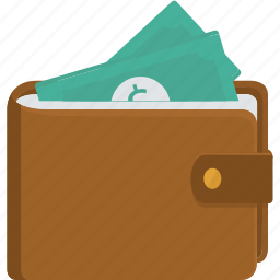 bank notes, bills, buy, cash, dollar, dollars, ecommerce, money, notes, order, pay, purchase, rich, wallet icon