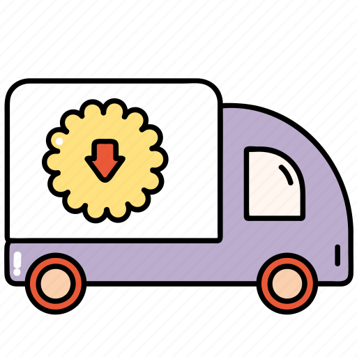 buy, car, delivery, shop, shopping icon