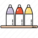 bottles, shop, shopping, store icon