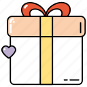 gift, present, shop, shopping icon