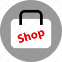 bag, ecommerce, online, shop, shopping icon