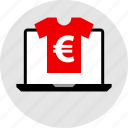 ecommerce, online, shop, shopping, tshirt icon