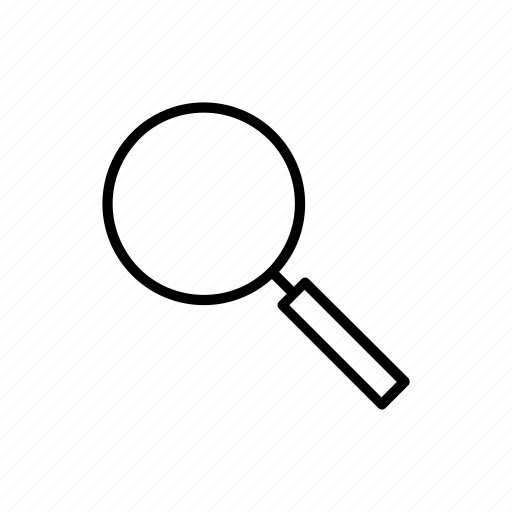 explore, magnifier, magnify, magnifying glass, search, zoom icon