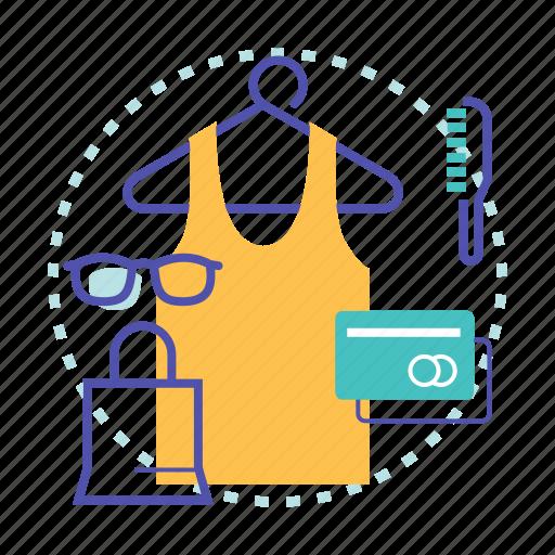 bag, buying, cart, ecommerce, items, shopping icon
