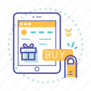 buy, click, hand, online payment, payment, shopping icon