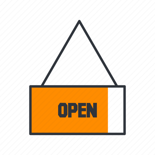 online shop, open, open shop, shop, shopping, store icon