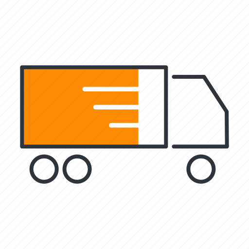 delivery, logistics, shipping, shop, shopping, truck icon