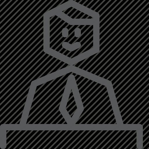 avatar, cashier, human, job, male, occupation, shopping icon