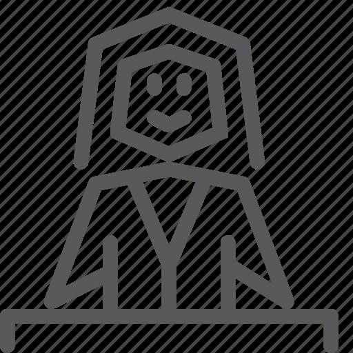avatar, cashier, human, job, occupation, shopping, woman icon