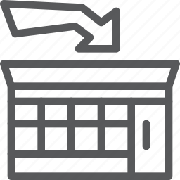 building, business, market, retail, shop, shopping, store icon