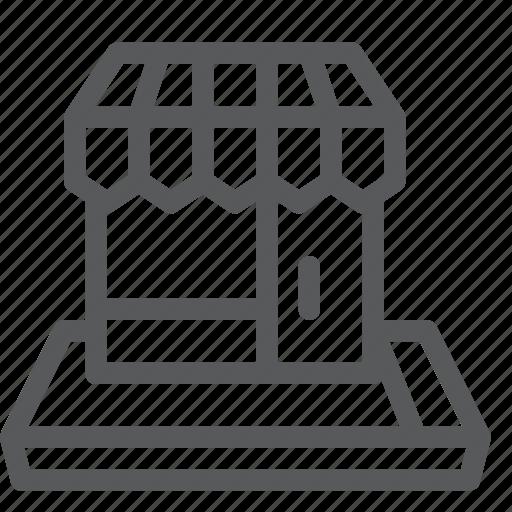 app, building, market, mobile, retail, shop, shopping, store icon