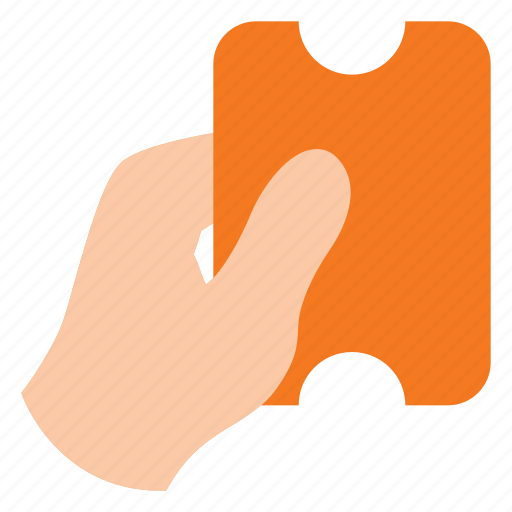 discount, hand, pay, payment, voucher icon