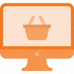 computer, online, shop, shopping icon